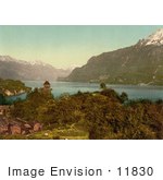 #11830 Picture Of The Lake Of Brienz In Switzerland