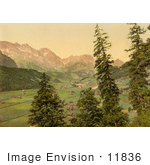 #11836 Picture Of Engelberg Valley Switzerland