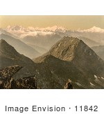 #11842 Picture Of The Swiss Alps Switzerland