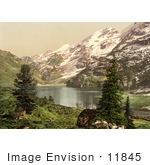#11845 Picture Of Engstlen Lake In Switzerland