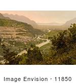 #11850 Picture Of St Maurice In Switzerland