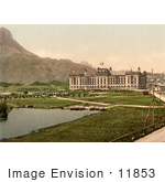 #11853 Picture Of The Kursaal Hotel In Switzerland
