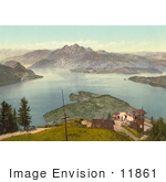 #11861 Picture Of Rigi Kanzell Pilatus Switzerland