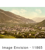 #11865 Picture Of The Cityscape Of Chur In Switzerland