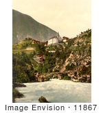 #11867 Picture Of Stalden Switzerland