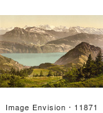 #11871 Picture Of Scheidegg Switzerland