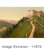 #11872 Picture Of Hotel Stanserhorn In Switzerland