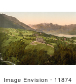 #11874 Picture Of Gast And Kurhaus Obwalden Unterwald Switzerland