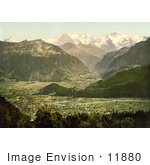 #11880 Picture Of Beatenberg Switzerland