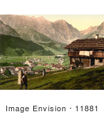 #11881 Picture Of A House At Engelberg Valley