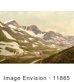 #11885 Picture Of Furka Pass In Switzerland
