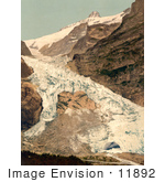 #11892 Picture Of The Village Of Grindelwald And Eiger Glacier