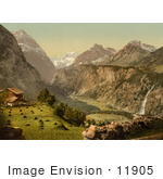 #11905 Picture Of Todi And Schreienbach Mountains Glarus Switzerland