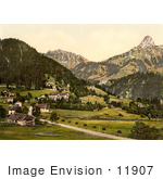 #11907 Picture Of The Avants And Dent De Jaman In The Bernese Alps