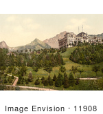 #11908 Picture Of Hotel De Caux In Switzerland