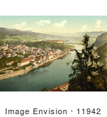 #11942 Picture Of Tetschen Bohemian Switzerland