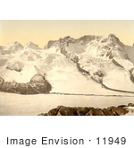 #11949 Picture Of Castor Pollux And Breithorn Mountains Switzerland