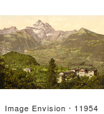 #11954 Picture Of A Hotel And Villa Des Bains Switzerland