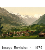 #11979 Picture Of Frutigen Bernese Oberland