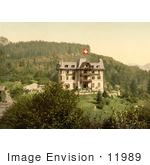 #11989 Picture Of Brunig Spring House In Switzerland