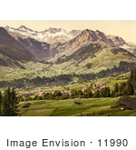 #11990 Picture Of Adelboden Switzerland