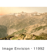 #11992 Picture Of A Viewpoint Of Furka Pass Switzerland
