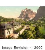 #12000 Picture Of Hotel Eiger With A View Of Wetterhorn Mountain