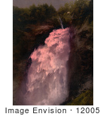 #12005 Picture Of Upper Falls In Reichenbach Switzerland