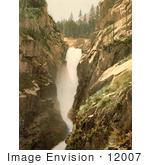 #12007 Picture Of Handegg Falls Switzerland