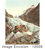 #12009 Picture Of Unterer Grindelwald Glacier Switzerland