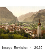 #12025 Picture Of The City Of Altdorf In Swtizerland