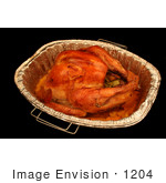#1204 Thanksgiving Photography Of An Oven Roasted Turkey