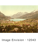 #12043 Picture Of Maloja In Switzerland
