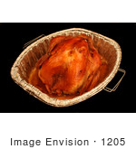 #1205 Photo Of A Oven Roasted Thanksgiving Turkey