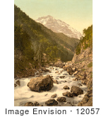 #12057 Picture Of Linth River Switzerland