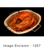 #1207 Photography Of A Cooked Thanksgiving Turkey