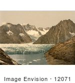 #12071 Picture Of Marjelensee Glacier Switzerland