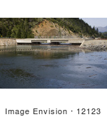#12123 Picture Of A Dam At Applegate Lake Oregon