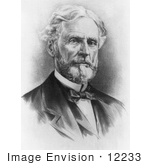 #12233 Picture Of Jefferson Davis