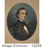 #12239 Picture Of Jefferson Davis