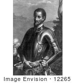 #12265 Picture Of Hernando De Soto