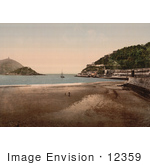#12359 Picture Of Donostia-San Sebastian On The Bay Of Biscay Spain