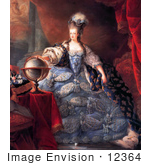 #12364 Picture Of Queen Marie Antoinette