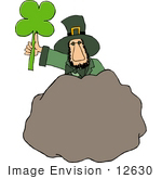 #12630 St Paddy'S Day Leprechaun Clipart