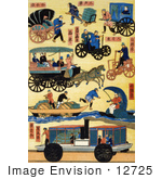 #12725 Picture Of Japanese Transportation