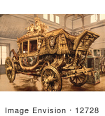 #12728 Picture Of The Carriage Of Charles X