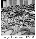 #12758 Picture of a Metal and Rubber Scrap Pile by JVPD