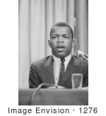 #1276 Photo Of John Lewis At A Meeting Of American Society Of Newspaper Editors