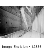 #12836 Picture Of A Mail Chute On Rms Lusitania