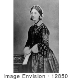#12850 Picture of Florence Nightingale by JVPD